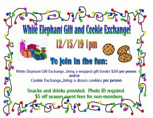 White Elephant Gift & Cookie Exchange